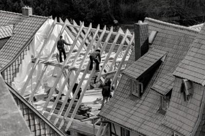 dak bouwen